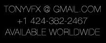 TONYVFX Contact Info
